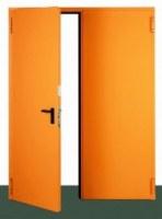 Lemezfalcos tűzgátló ajtók egyedi kivitelben